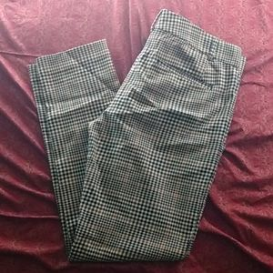 Two For 10% off: Joe plaid slacks size 6